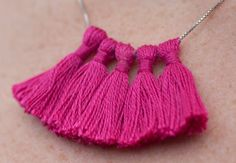 Tassel Necklace - Creativebug