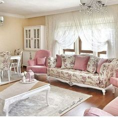 Home Decoration – Home Desing Ideas Home Design Decor, Interior Design Living Room, Living Room Designs, Living Room Decor, Diy Home Decor, House Design, Living Rooms, White Wooden Rocking Chair, Sofa Upholstery
