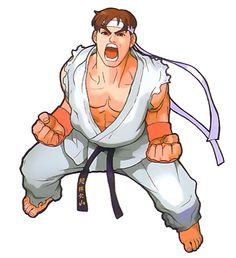 Marvel vs Street Fighter - Ryu