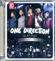 """Up All Night: Live Tour [Blu-ray]: One Direction's first live DVD features a 73 minute concert of their hit songs, plus never before seen, behind the scenes footage and three music videos (""""What Makes You Beautiful"""",""""Gotta Be You"""" and """"One Thing""""). One Direction Dvd, One Direction Website, Nbc Today Show, What Makes You Beautiful, Kids Choice Award, Entertainment Video, Hit Songs, Debut Album, Tours"""
