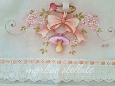Embroider this on baby blanket for shower gift!