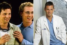 Then and Now: The Cast of 'Grey's Anatomy' - After starting out as a model, Justin Chambers appeared in several soap operas like Another World and Four Corners. He's still recognized as Jennifer Lopez's toss-away love interest, Massimo, in 2001's The Wedding Planner. Matthew McConaughey also starred in the rom-com. Currently, Chambers is one of the few originals left on Grey's.