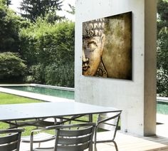 HelloCanvas — Decoration tip #3: HD metal, perfect for outdoor...