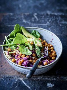 Asian Recipes, Healthy Recipes, Ethnic Recipes, Plat Vegan, Vegan Junk Food, Vegan Sushi, Vegan Smoothies, Vegan Kitchen, Buddha Bowl