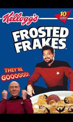 Frosted Frakes #TNG - They're Goooooood!
