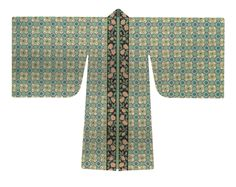 Song Dynasty. Broad-sleeved garment (beizi). 183 cm sleeve span and 162 cm length. Reconstruction based on Song paintings, pottery figurines, and unearthed artifacts. [Figure 200 in 5000 Years of Chinese Costume.]