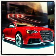 The New Audi RS5 at the 2012 New York International Auto Show!!!