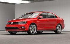 New Release Volkswagen Jetta GLI 2016 Review Front Side View Model