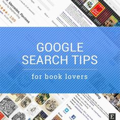Searching for #books and #ebooks made easier with #google
