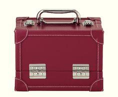 612812 - Koffer Lederlook M rot