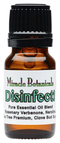 Hey, I found this really awesome Etsy listing at https://www.etsy.com/listing/220148156/miracle-botanicals-disinfect-essential
