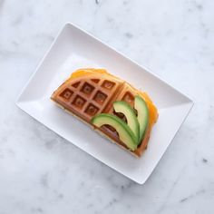 Waffle Grilled CheeseServings: 4 INGREDIENTS2 cups waffle mix1 tablespoon minced rosemary (fresh or dried)1 egg2 tablespoon vegetable oil1⅓ cup milk8 ounces sliced sharp cheddar cheesePREPARATION1. In a large bowl, combine waffle mix, rosemary, egg, oil, and milk. Stir until well combined.2. Pour about ½ cup of the batter into the waffle iron (amount may vary based on the size of the waffle iron). Cook until the waffle is golden brown.3. Add slices of cheese on half of the waffle. Carefully…