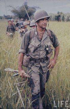 Patrol in Vietnam