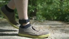 SolePower is a shoe insert that generates electricity from the swing and heel impact of a person's gait.