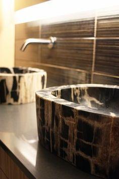 dramatic modern bathrooms - modern - bathroom - portland - bright designlab
