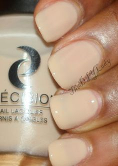 """""""Sandstorm is up next. This is as nude as it get! Reminds me of sand - just as the names suggests. Lol The formula on this one wasn't the best. It's sheer and took lots of patience to apply well in 3 coats."""""""