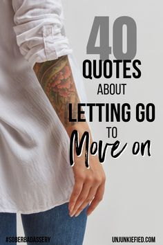 If you are recovering from an addiction or just in a bad place. These letting go quotes are what you need to hear to move on. Motivating you to change your life for the better. #inspirationalquotes #lettinggoquotes #motivationalquotes #personalgrowth #overcomethepast #sobermotivation #soberbadasssery Sober Quotes, Sobriety Quotes, Motivational Quotes, Life Quotes, Inspirational Quotes, Recovery Quotes, Letting Go Quotes, Go For It Quotes, Quotes To Live By