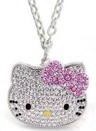 Hello Kitty Crystal CZ Necklace