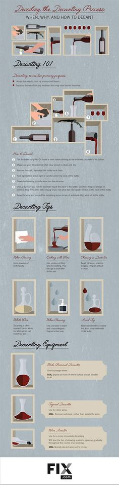 Decanting wine is not just for fancy parties and professional sommeliers. Learn how you can get the most from your wine by becoming familiar with the art of decanting.