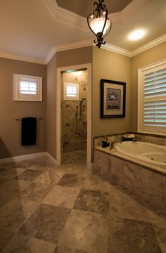 Pros and Cons of Having Doorless Shower on Your Home 2019 Think of having a doorless shower or walk-in shower in your home? Read this first! The post Pros and Cons of Having Doorless Shower on Your Home 2019 appeared first on Shower Diy. Pot Jardin, Master Bath Remodel, Garden Tub, Shower Remodel, Tub Remodel, Remodel Bathroom, Bathroom Makeovers, Suites, Dream Bathrooms