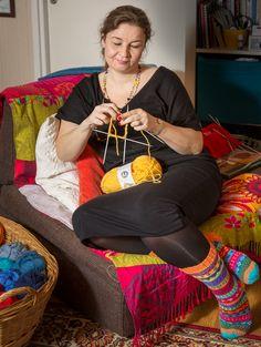 Slippers, Socks, Knitting, Crafts, Style, Fashion, Swag, Moda, Manualidades