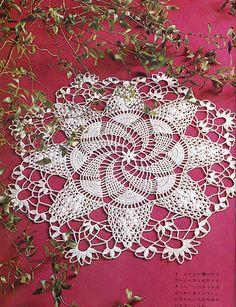 Crochet Doily pattern PDF0008 by LavenderCrochet on Etsy, $2.00