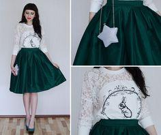 Karina Malina♥ - Chic Wish Skirt - Rabbit♥