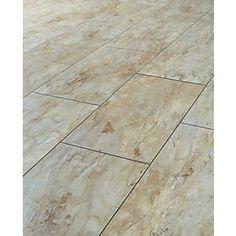 Colours Leggiero Blue Slate Tile Effect Laminate Flooring 1.72m² ...