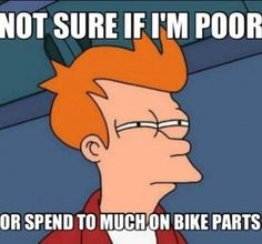 Too Much Money on Bikes | Funny Cycling Picture | Cycling Humor