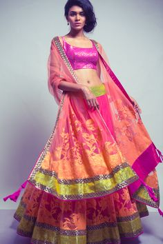 Pretty lehangas by Neeta Lulla at The Dressing Room  https://www.facebook.com/thedressingroom.ind?fref=ts