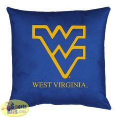 West Virginia Mountaineers Locker Room Toss Pillow