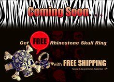Saving 4 A Sunny Day: Last Day- Free Skull Ring