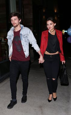 | LOUIS TOMLINSON and GIRLFRIEND DANIELLE CAMPBELL SPLIT UP…