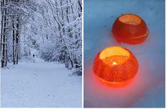 jurianne matter: DIY - tangerine lights
