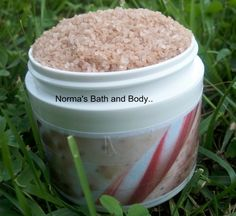 mint chocolate bath salt. Smells good enough to eat! and Bath salts are great for bathing in for sore muscles.