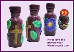 "Makin's Clay® Blog: ""Shades of Purple"" Bottle of Hope by Patricia Krau..."