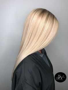 Beige blonde balayage- Beige blonde balayage Beige blonde b Blond Beige, Beige Blonde Balayage, Balayage Hair, Blonde Color, Blonde Hair Looks, Mi Long, Hair Highlights, Hair Day, Gorgeous Hair