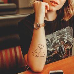 10 Most Beautiful Pet Memorial Tattoos » Urns | Online Cat And Dog Tattoo, Dog Tattoos, Animal Tattoos, Tattoo Cat, Lion Tattoo, Sleeve Tattoos, Subtle Tattoos, Unique Tattoos, Tattoos For Women Small