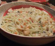 Spaghetti aux fruits de mer 1 - Recettes Québecoises Seafood Recipes, Pasta Recipes, Dinner Recipes, Spaghetti Sauce, Recipes For Beginners, Fish And Seafood, Keto Dinner, No Bake Desserts, Ajouter