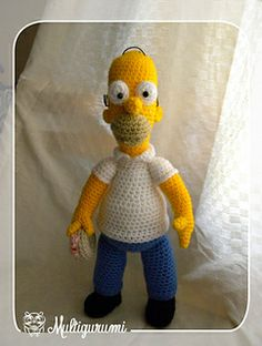 Homer Amigurumi crochet pattern on Ravelry