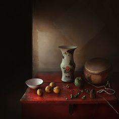 Photo La table rouge - Yang Bin