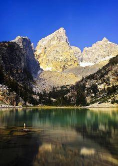 Delta Lake, Grand Tetons National Park - Wyoming