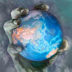 La Tierra en la mano del Diablo