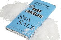 Dark Chocolate Bar #Seasalt #skelligschocolate #darkchocolate #Handmadechocolate