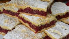 Bakina kuhinja - kolač sa višnjama - Bakini domaci i video recepti Blueberry Cobbler Recipes, Hungarian Recipes, French Toast, Sandwiches, Muffin, Food And Drink, Cooking Recipes, Pie, Sweets
