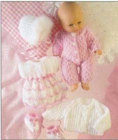 doll knitting patterns - Google Search