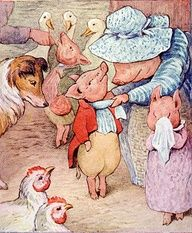 The Tale of Pigling Bland - Beatrix Potter... I totally LOVED this story when I was little! So interesting.