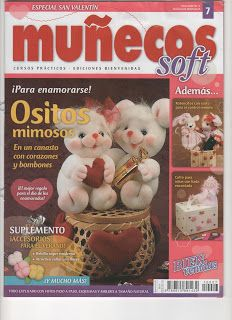 revistas de manualidades gratis Sewing Magazines, Soft Dolls, Felt Toys, Free Books, Baby Toys, Fabric Crafts, Crafts To Make, Needlework, Doll Clothes