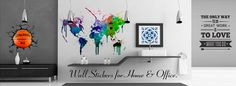 Moonwall Stickers website for wall decals
