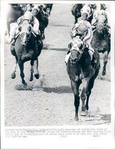 '72 Churchill Downs Louisville Race Horse Riva Ridge Kentucky Derby News Photo